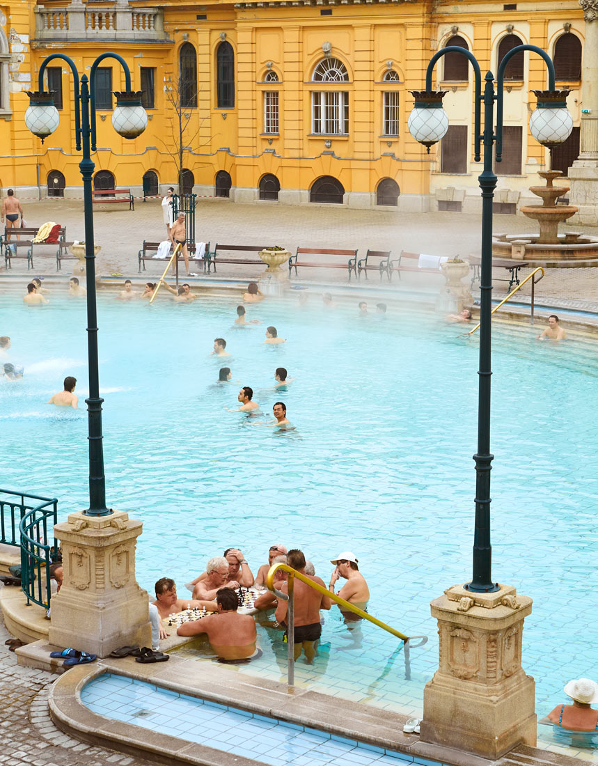 Bain thermaux Budapest
