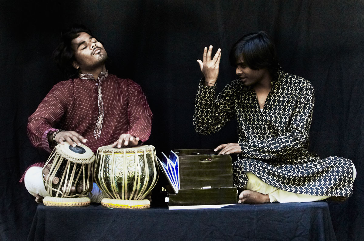 Portraits Indiens- Tabla Harmonium